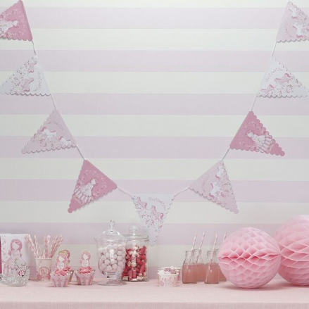 Pink Princess Party Bunting *SALE*